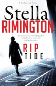 Rip Tide is the sixth Liz Carlyle novel; a seventh will be published in 2012