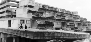 Concrete ziggurats and heavy policing