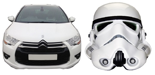 The Citroen DS4 became known as the Stormtrooper, for obvious reasons